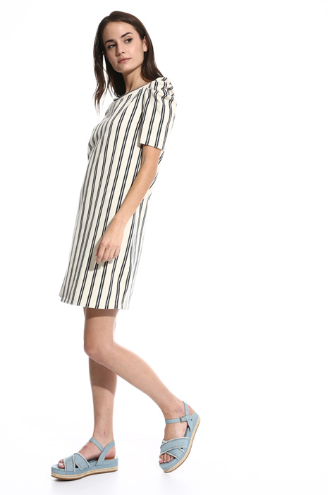 Jersey chevron dress Intrend