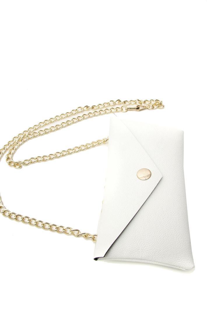 Golden chain belt bag Intrend