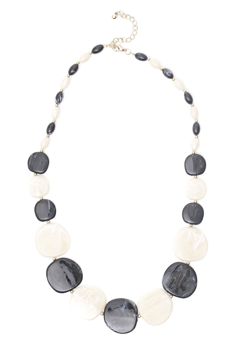 Resin stone necklace Intrend