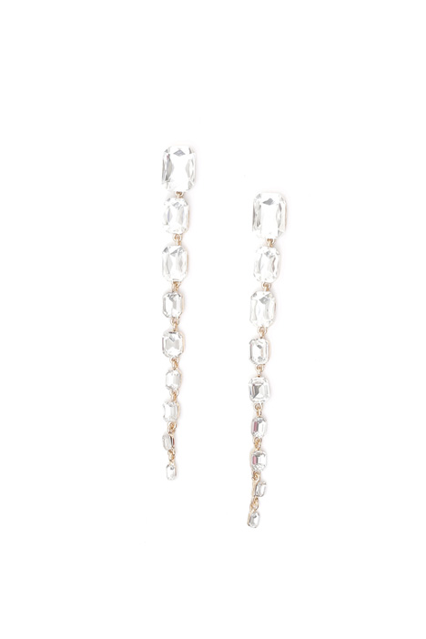 Glass stone earrings Intrend