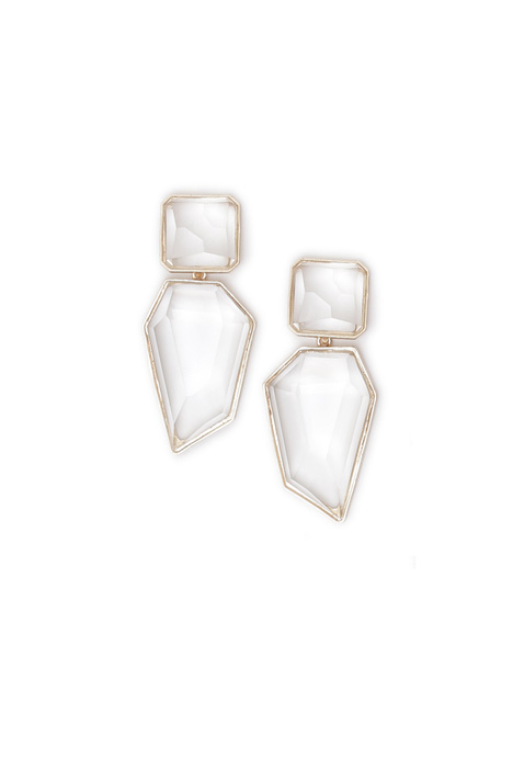 Maxi stone earrings Intrend