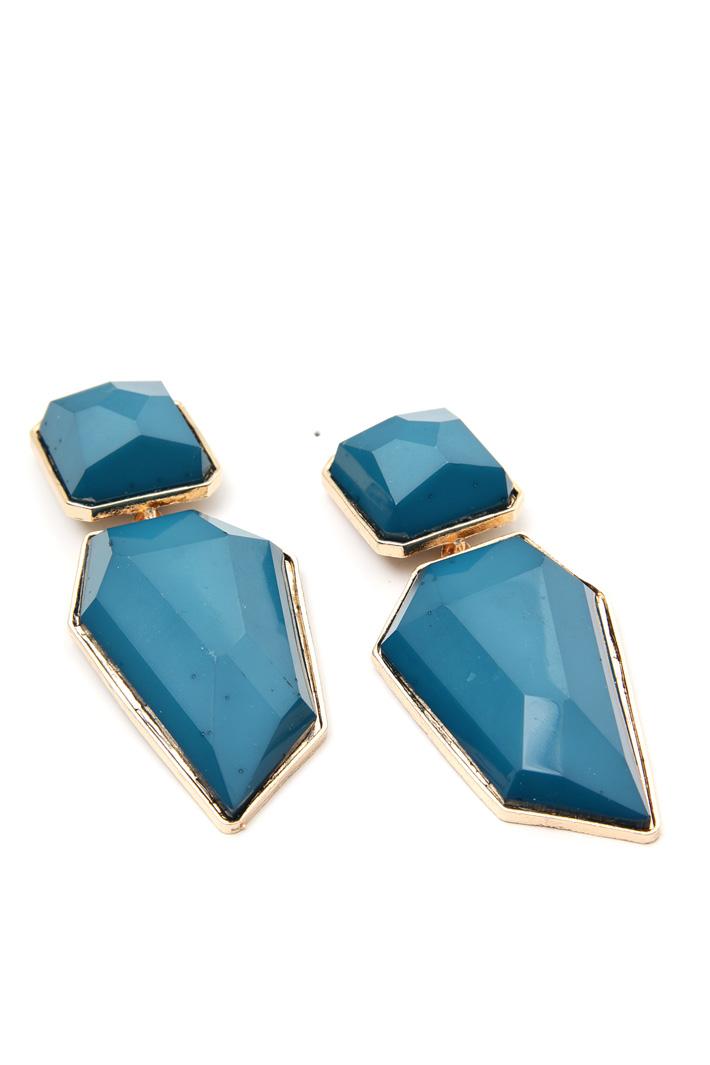 Maxi stone earrings Intrend