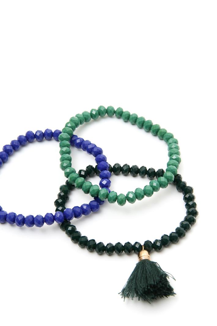 Set of glass bracelets Intrend