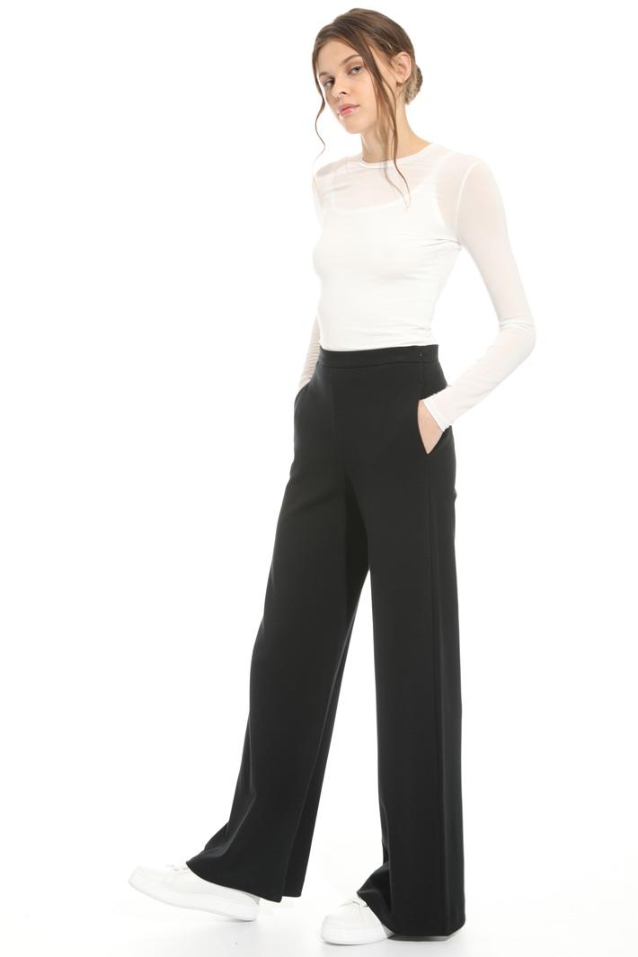 Pantalone in jersey felpato Intrend