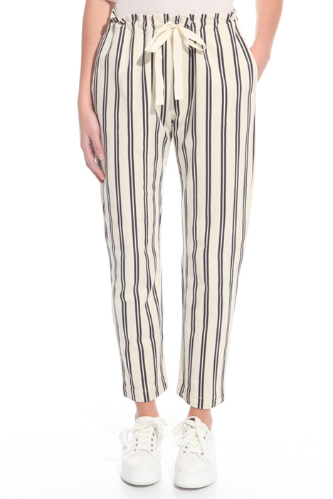 Jersey chevron trousers Intrend