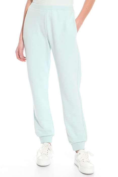 Fleece jogging-style pants Intrend