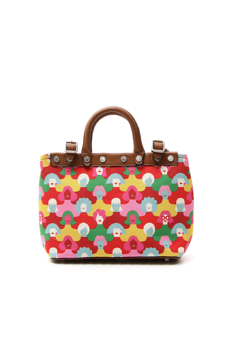 Printed handbag Intrend