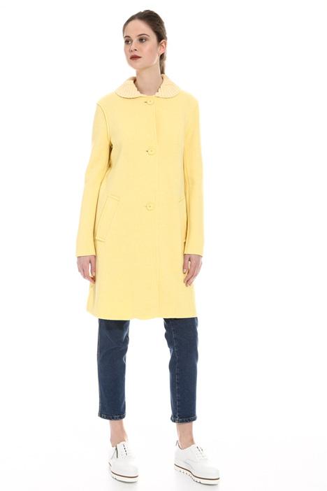 Cappotto in lana cotta Diffusione Tessile