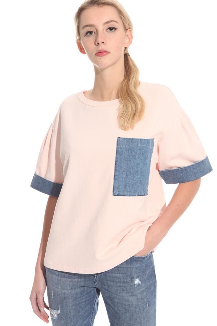 Cotton fleece top  Intrend