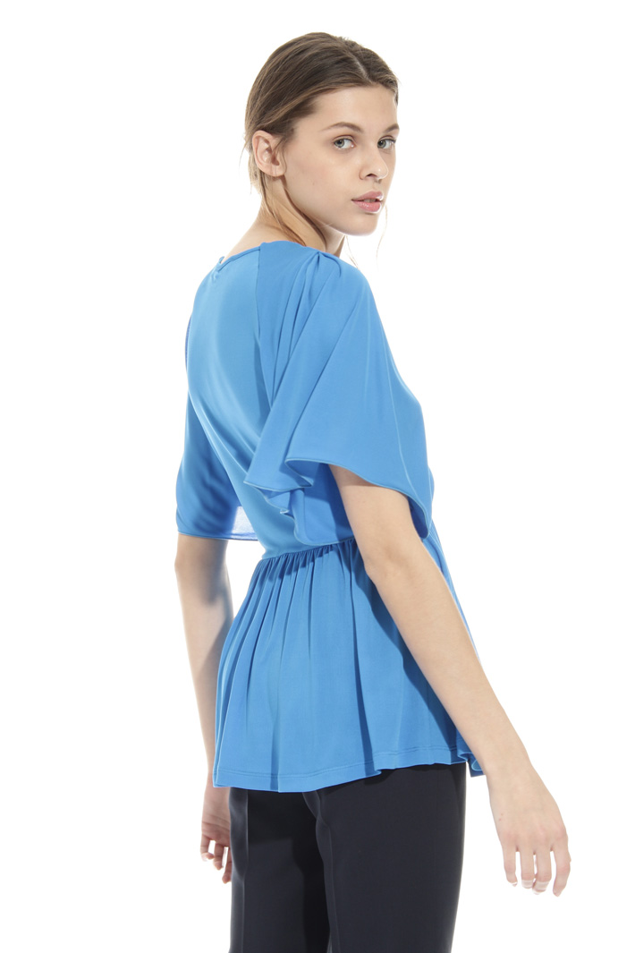 Organza jersey top Intrend