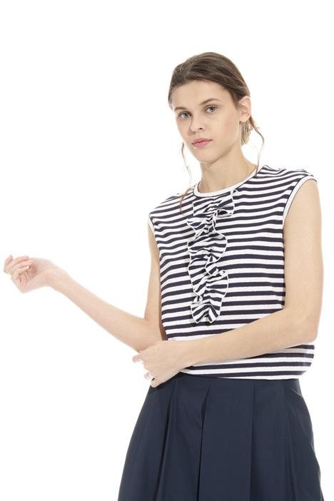 Lurex striped top Intrend
