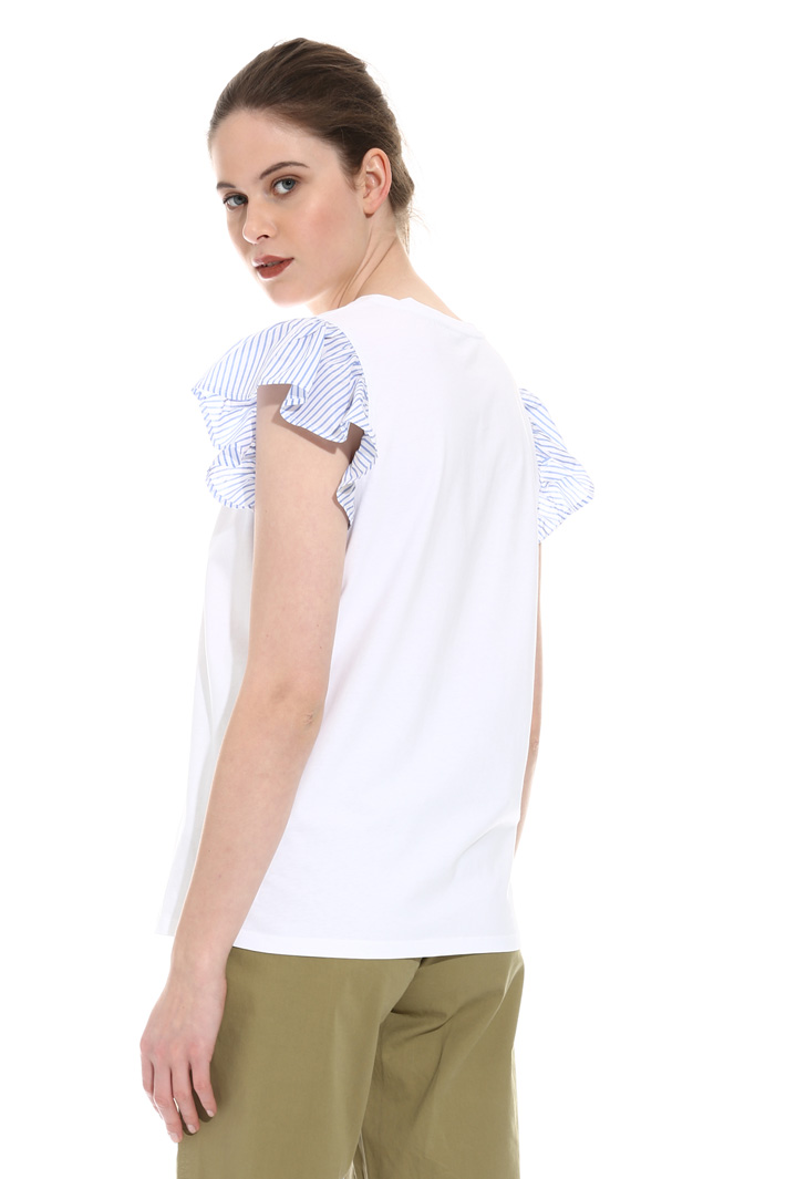 Frill cap sleeve top Intrend