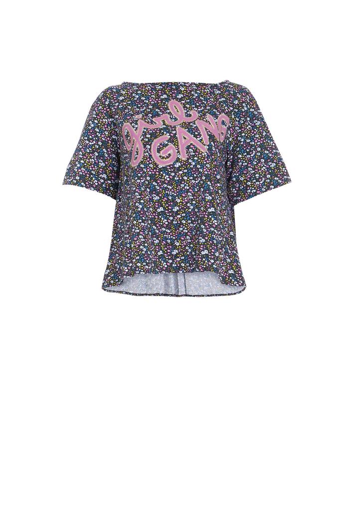 T-shirt svasata in jersey Intrend