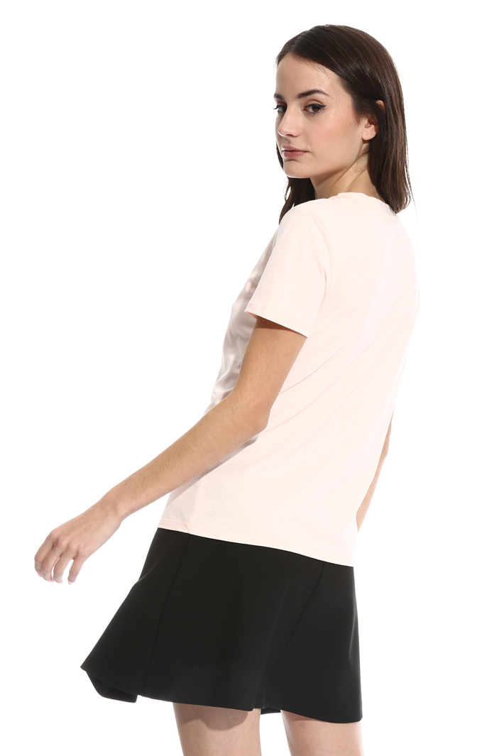 Crew-neck cotton T-shirt  Intrend