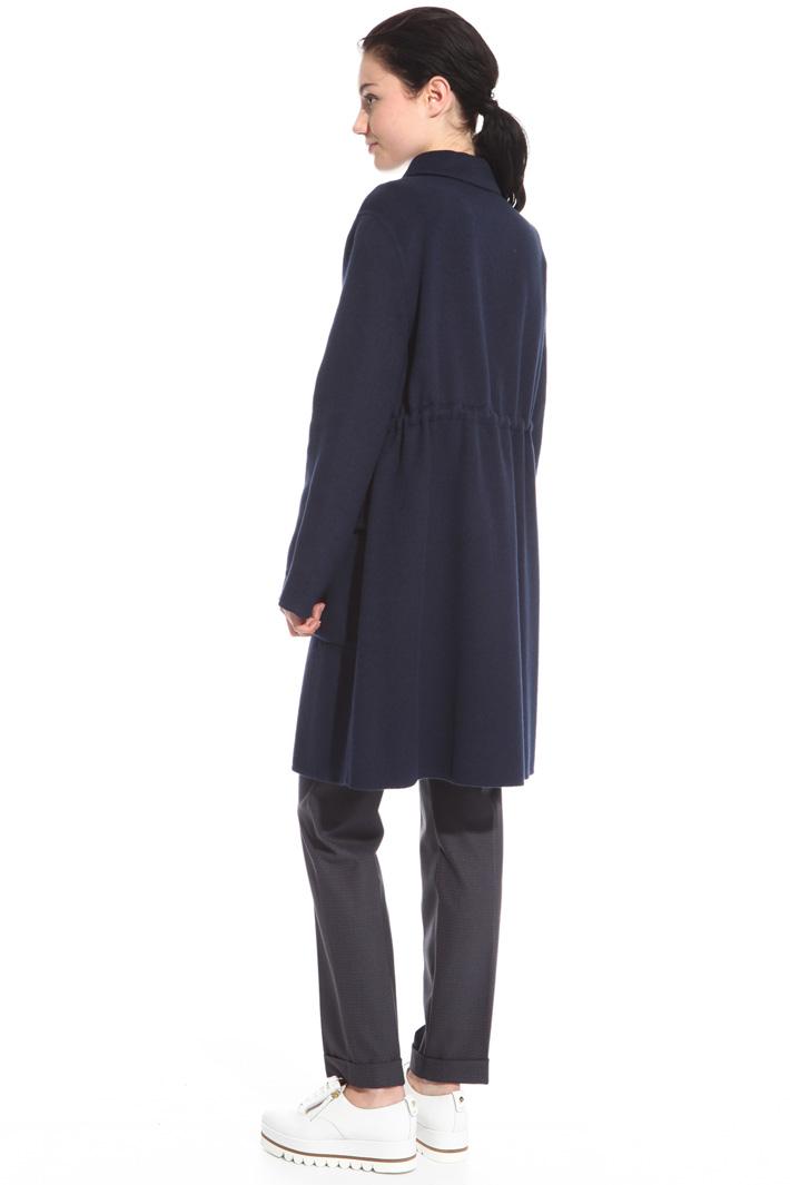 Waist drawstring coat Intrend