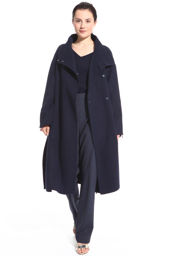 Light wool blend coat Intrend