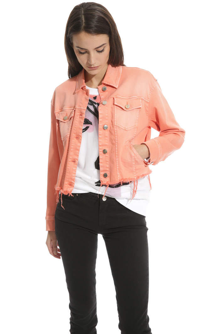 Cotton bull jacket Intrend