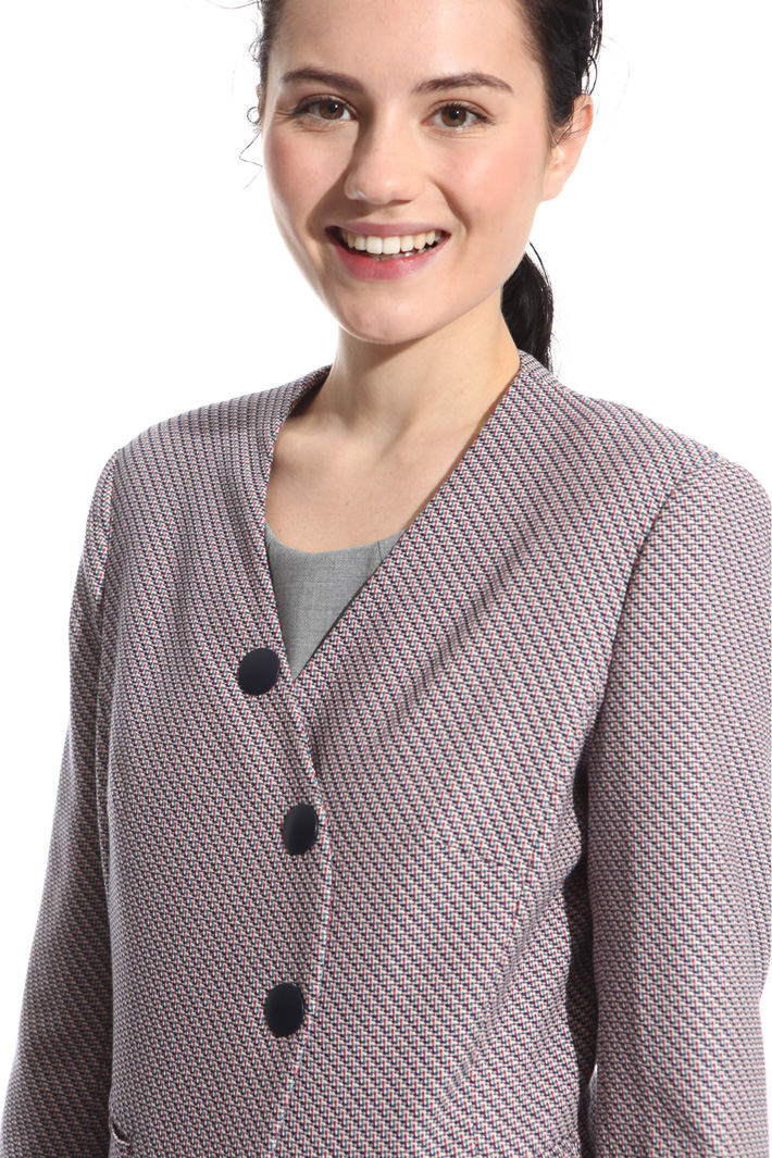 Asymmetrical jacket Intrend