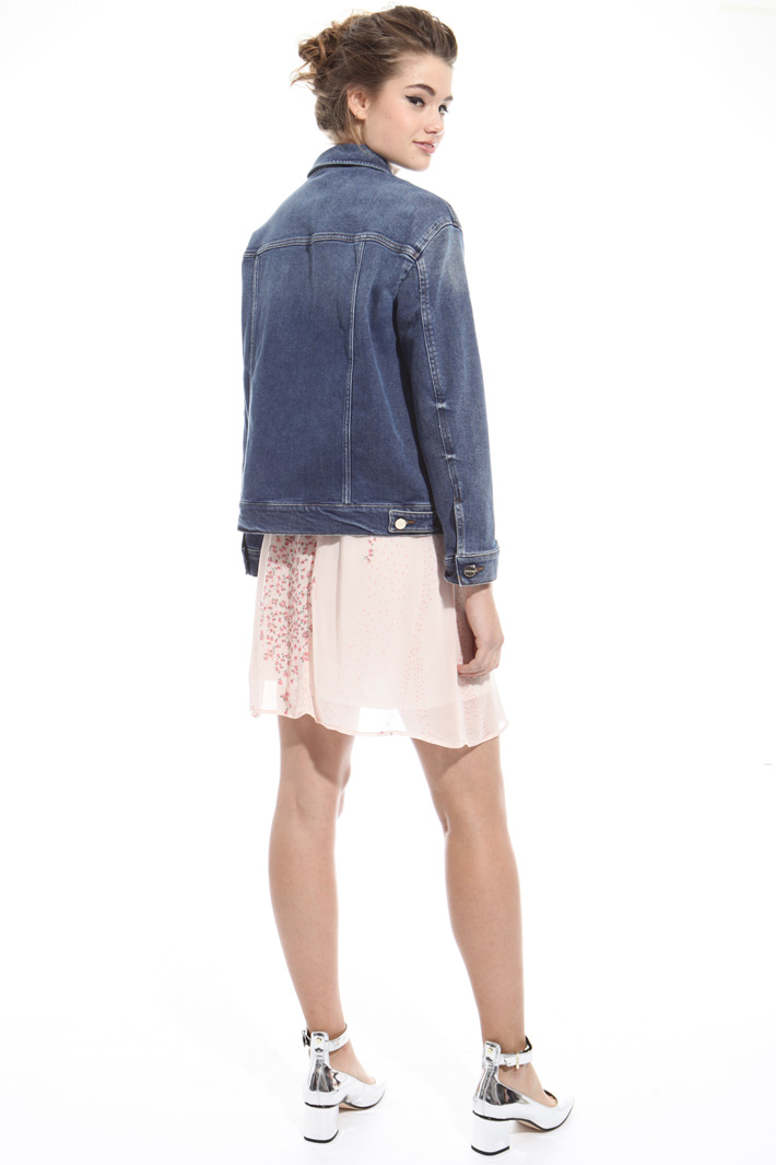 Giacca in denim stretch Intrend
