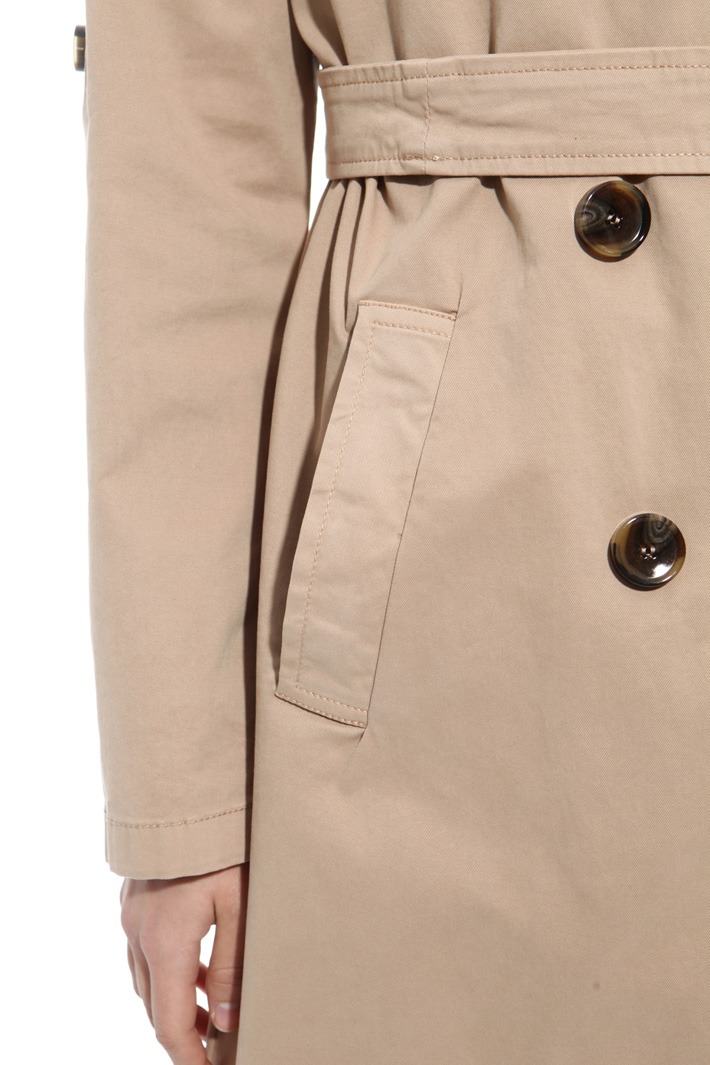 Oversized lapel trench Intrend