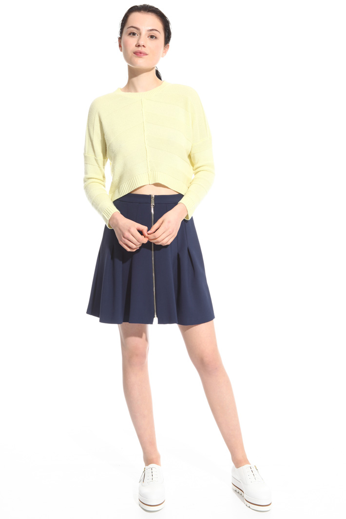 Zip front skirt Intrend