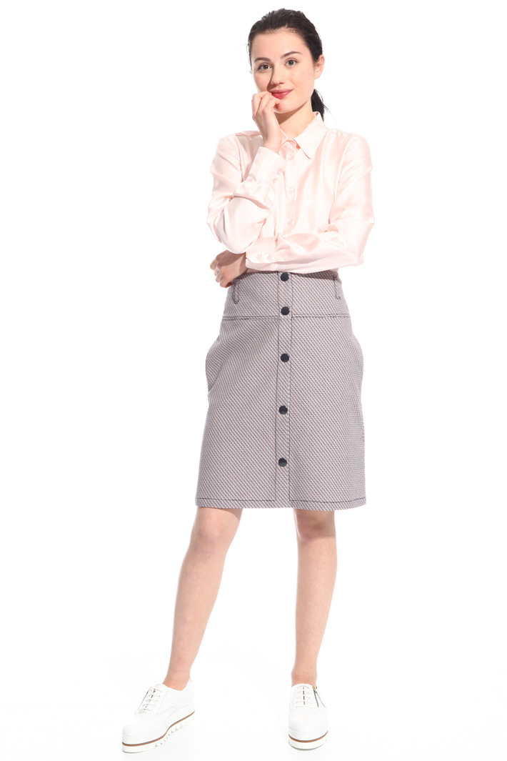 Front button skirt Intrend