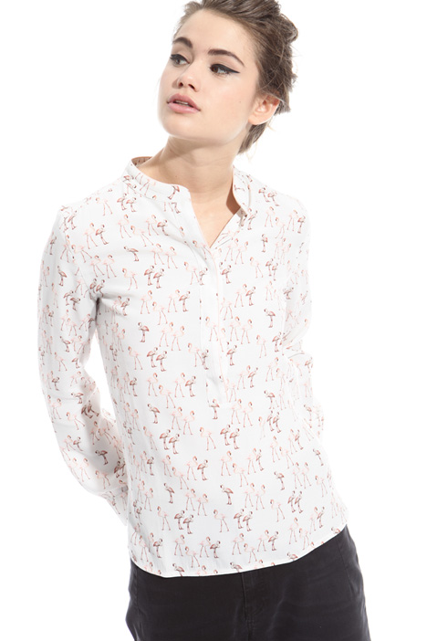 Blusa in tessuto fluido Intrend