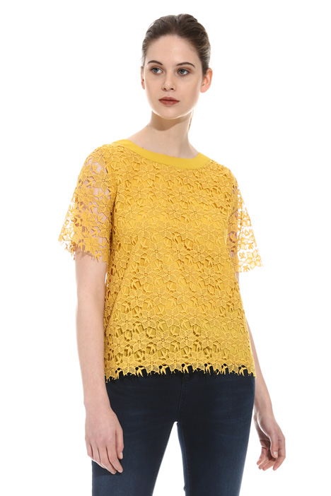 Macramé lace top  Intrend