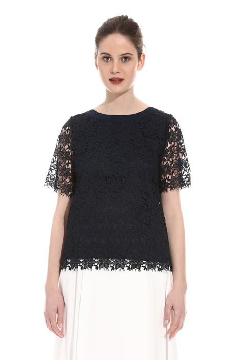 Top in pizzo macramé Intrend