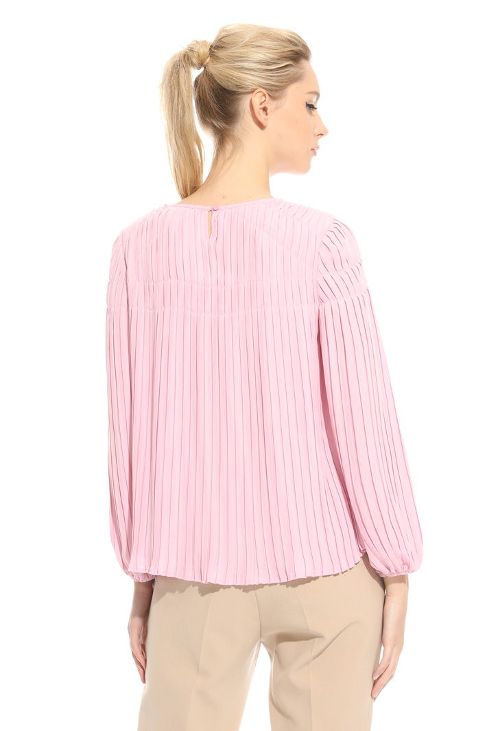 Pleated fluid blouse  Intrend