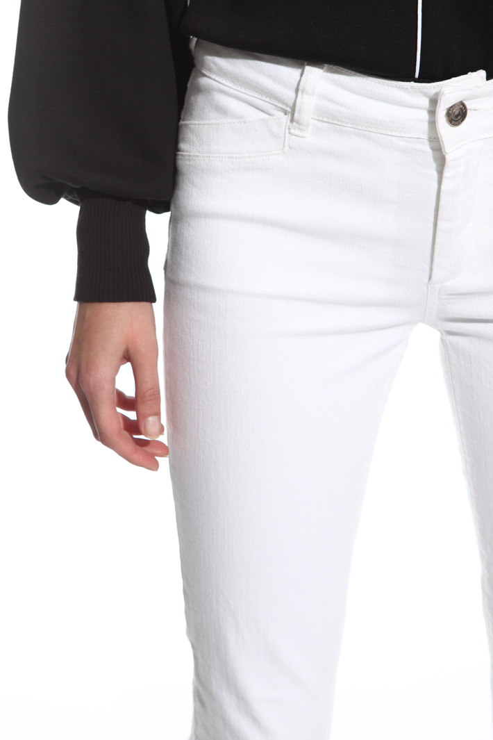 Zipped bottom trousers Intrend