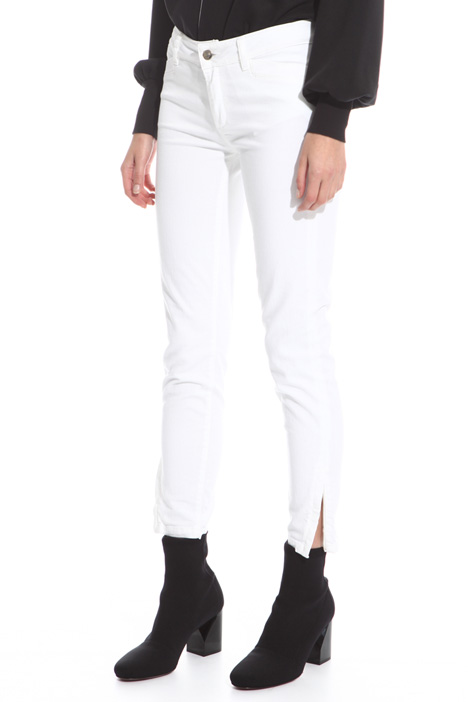 Zipped bottom trousers Diffusione Tessile