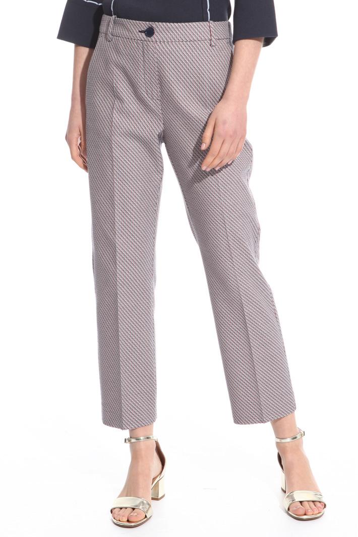 Pantalone con piega stirata Intrend