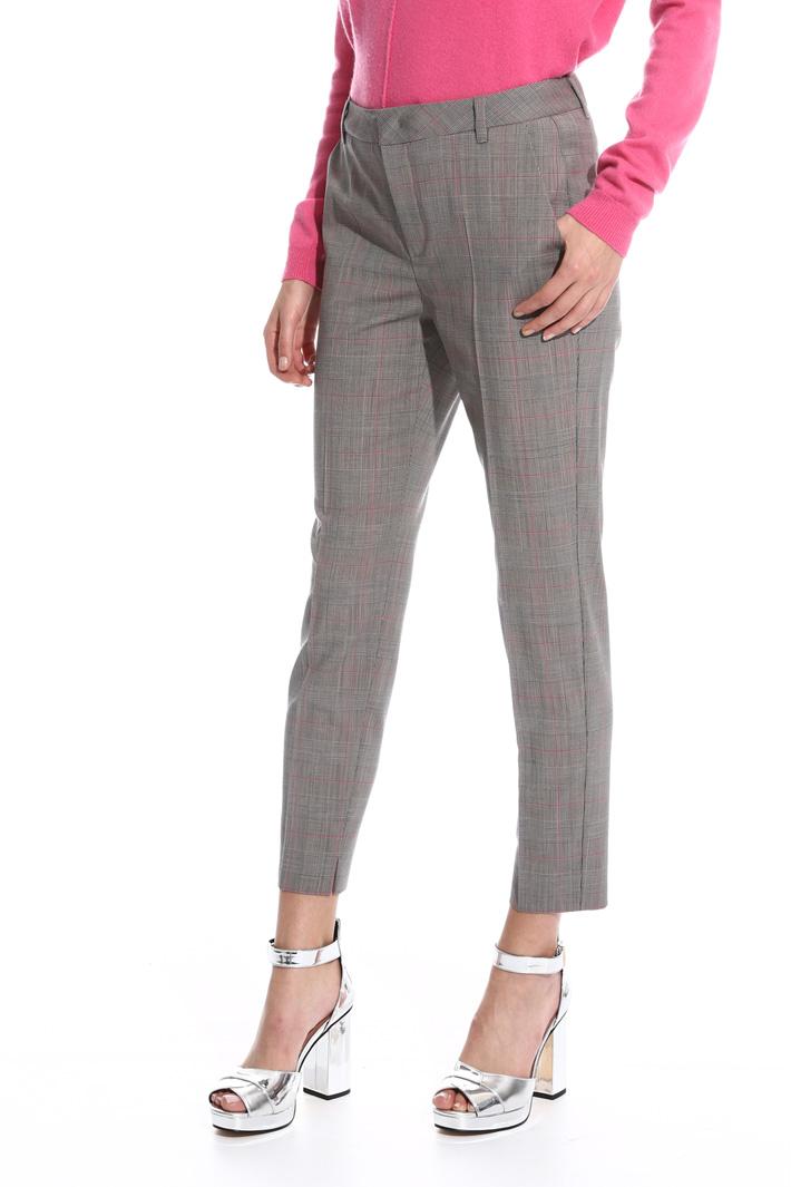 Pantalone in fresco di lana Intrend
