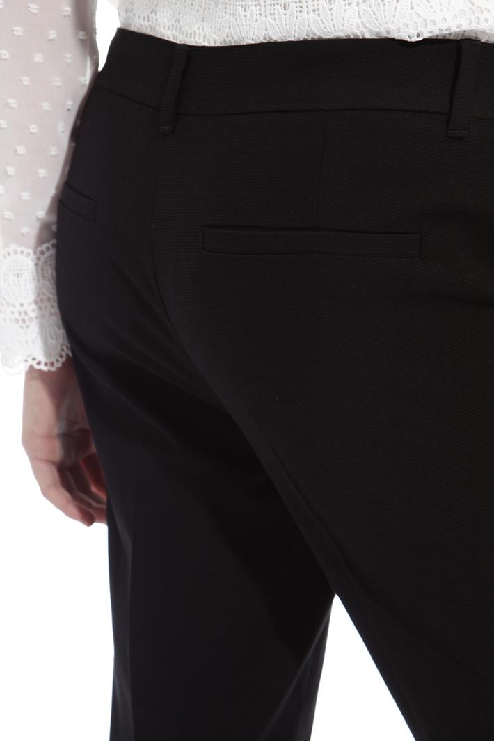 Pantalone in faille di cotone Intrend