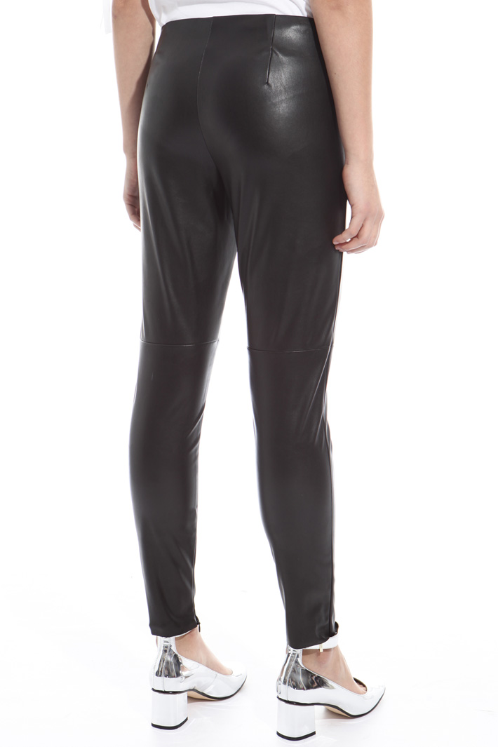 Leggings in jersey spalmato Intrend