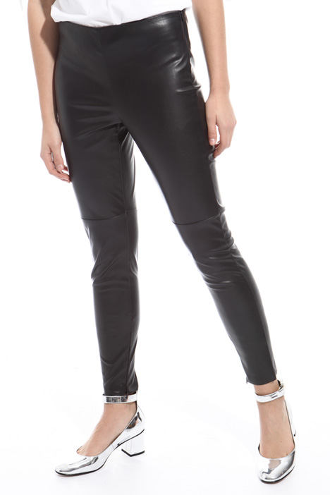 Coated jersey trousers Diffusione Tessile