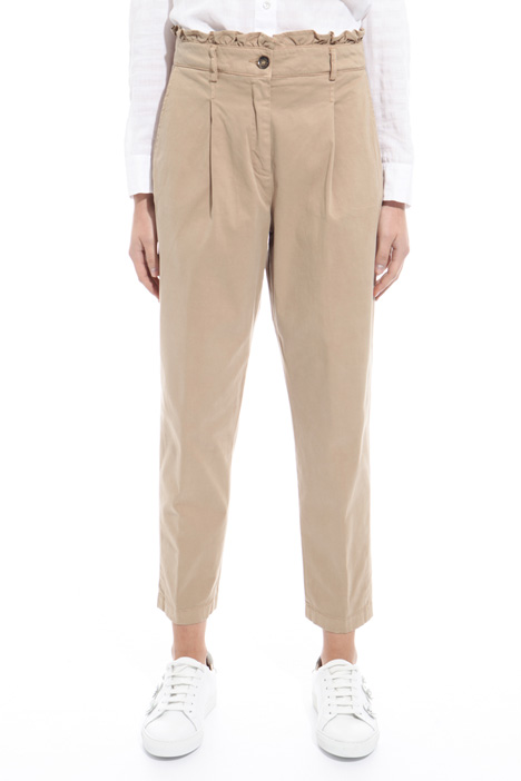 Stretch twill trousers Diffusione Tessile
