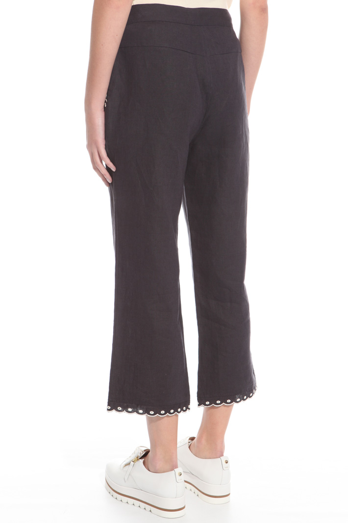 Pantalone in puro lino Intrend
