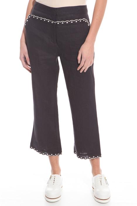 Pantalone in puro lino Intrend