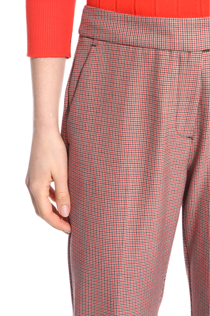 Micro patterned trousers Intrend