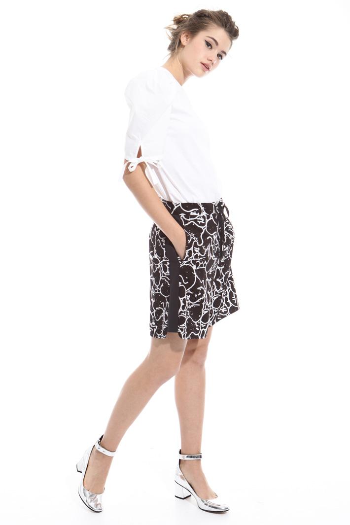 Pantalone corto stampato Intrend