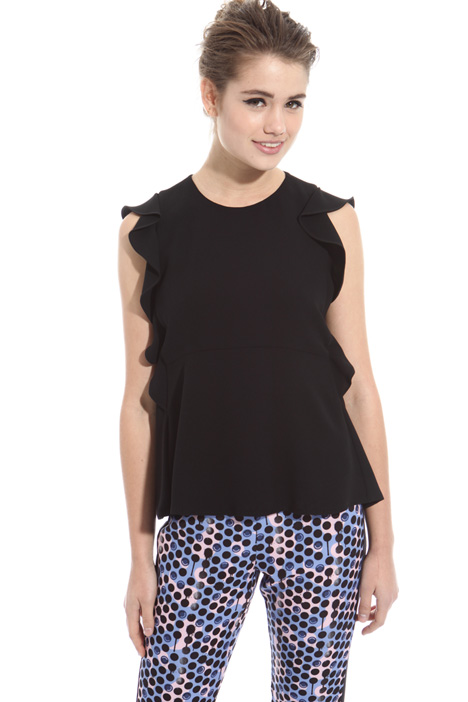 Flounced sablé top Intrend