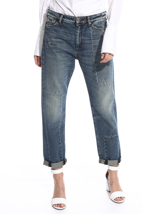 Denim boyfriend jeans Intrend
