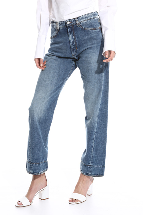 Straight leg mom jeans Intrend