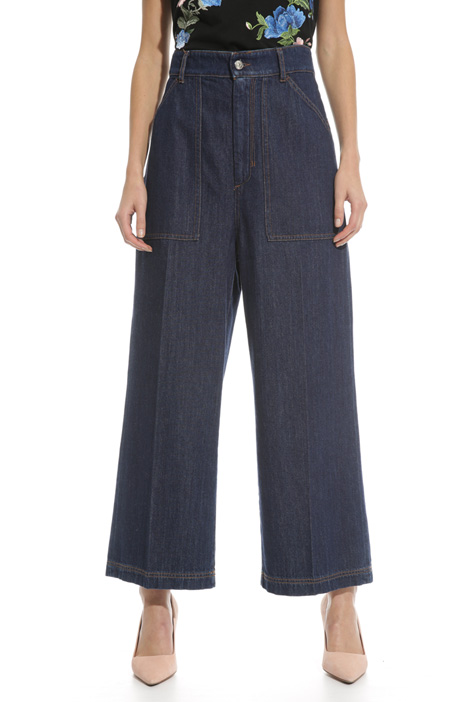 High-waisted trousers Diffusione Tessile