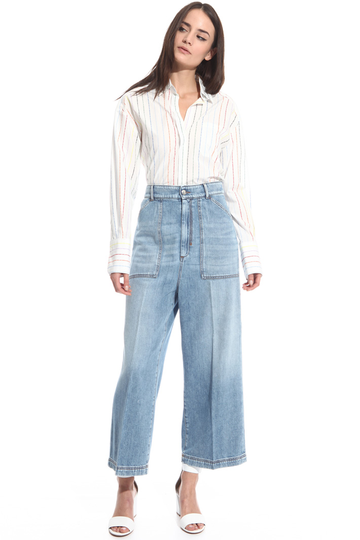 Jeans wide leg Intrend