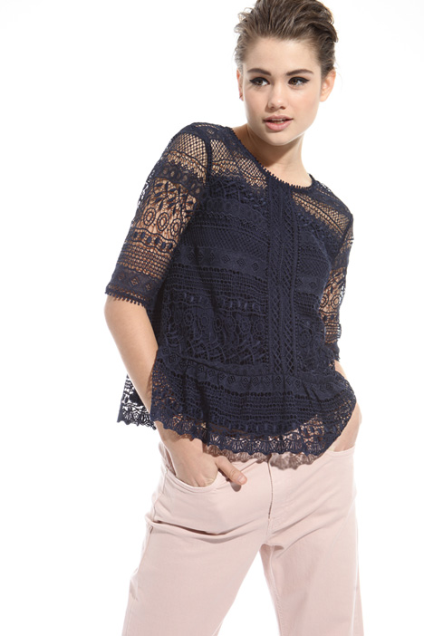Bxxy-fit macramé top Intrend