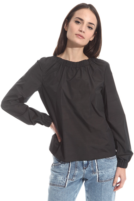 Blusa in taffetas Intrend