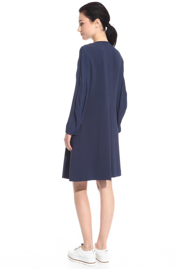 Front Zip dress Intrend